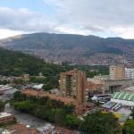 Hermosa vista sobre parte de la ciudad
