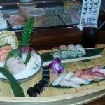 Sushi and Sashimi for 2
