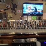 66 beers on tap!