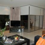 salon d'une chambre appart de 100 m2