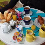 Petit déjeuner Hôtel Abrivado