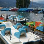 Interlaken - Restaurant Neuhaus zum See - pleasure boats to rent