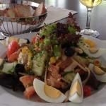 Interlaken - Restaurant Neuhaus zum See - yummy summer salad