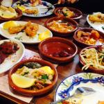 Really good selection of tapas