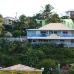 l'hôtel vu de la plage - bord de mer