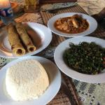 Traditional African dishes
