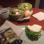 Turkey BLT & Salads