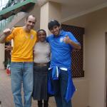 My Bro Vanderlei, Zodwa and me  | Great Moment