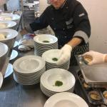 la preparazione in cucina