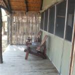 Great to lounge in these chairs on your stoep overlooking the lak