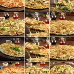 Variedad de Pizzas stone oven