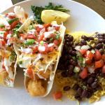 Rock shrimp tacos