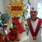 Grand Buffet di dolci  del 1 gennaio 2016