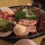 Combo fajitas with shrimp
