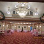 Dinning room lower level of hotel
