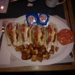 Club sandwich matin
