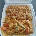 Curry Chicken with Peanut Sauce