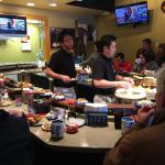 Sushi House Train Service