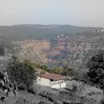 View from room. lingmala waterfall