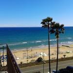 Panorama dal balcone di un appartamento nel mese di Maggio