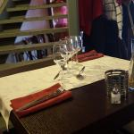 la table bien dressé