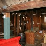 inside the grist mill musuem