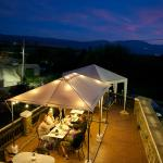 dîner sur la terrasse