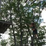 Ropes course out back