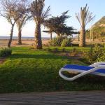 Vue sur la plage de Lozari