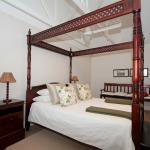 Bedroom of the Phondo suite.