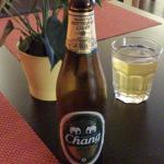 Interlaken - Art Pizza - Chang beer (Thailand)