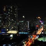 Bangkok kilátás a tetőröl