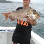 Happy Punter with nice Bay of Islands Snapper