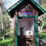 Telephone booth- emergency