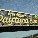 Entering Daytona