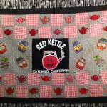 Red Kettle quilt