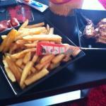 Peri Peri fries (and not a single sprinkle of Peri Peri)
