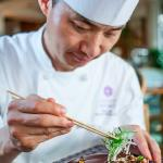 Executive Sous Chef Tony Lee and his beef specialties, every night at La Mirenda