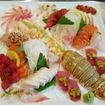 Lobster Sashimi Combination