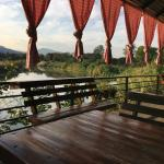 Terrace on the Ping river