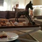 Tischdeko und Kuchen zum Nachmittag