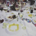 Finalizando la cena de fin de año en el Salón Europa de Marina d'Or
