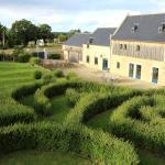 Manoir du Clos Clin et son labyrinthe