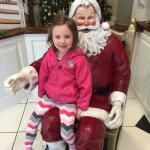 Charley with Santa