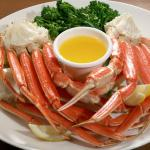 Try our amazing crab legs on Saturdays