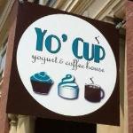 Yo' Cup sign