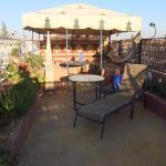Terrasse ensoleillée, vue sur Marrakech; le tout à 800m de la place Jamelfla.
