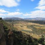 Vue du bord de la falaise à Ronda, Espagne