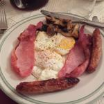Full Irish Breakfast @ The Yellow House B&B, Navan