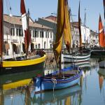 Barche storiche di Cesenatico